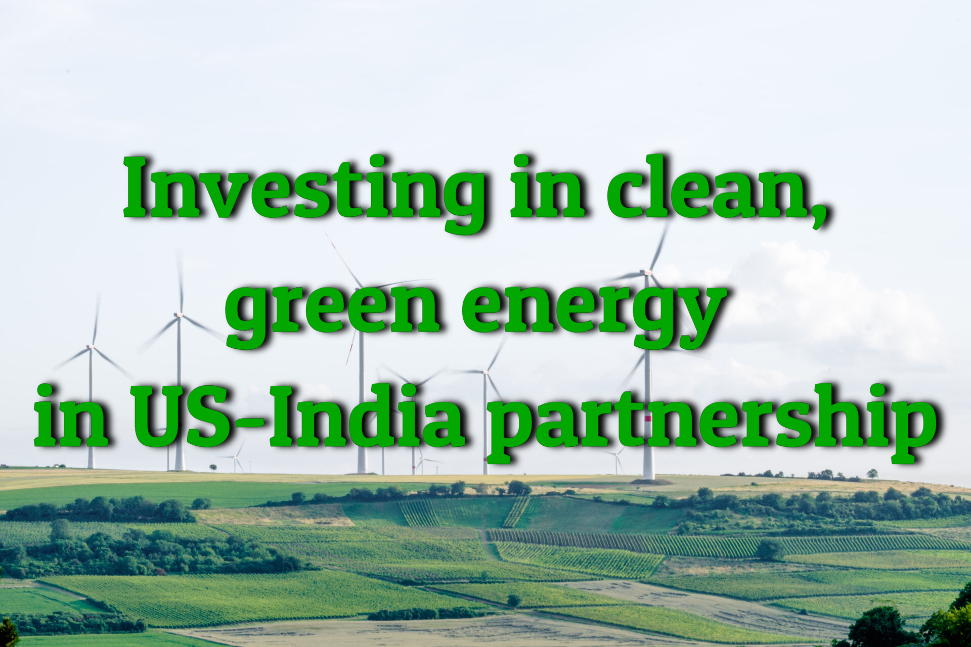 Clean, green energy to be the focus of US-India strategic partnership, Minister Jitendra Singh says